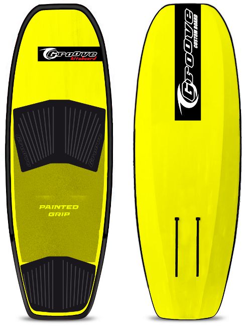 Foil Board FACILE Freeride Hydrofoil board GIALLO