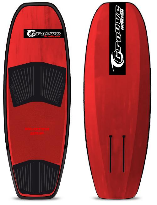 Foil Board FACILE Freeride Hydrofoil board RED