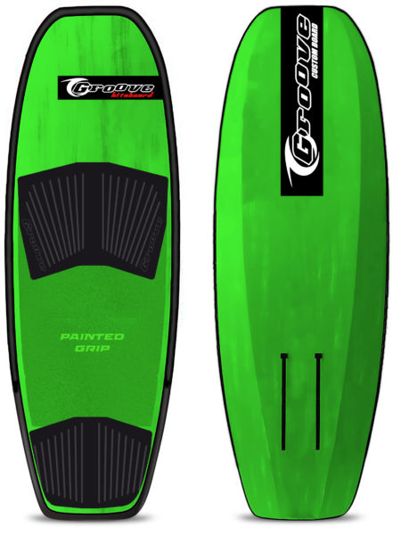 Hydrofoil board Groove